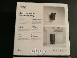 Ring Stick Up Cam Battery & Solar Panel Indoor/Outdoor 1080p HD 2way talk Black