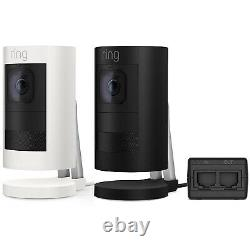 Ring Stick Up Cam Elite Power over Ethernet Security Camera, Night Vision