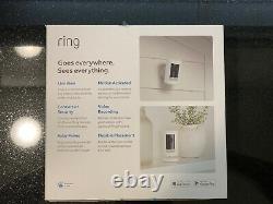 Ring Stick Up Cam Indoor/Outdoor HD Security Camera (White, Battery), 3rd Gen