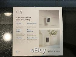 Ring Stick Up Cam Indoor/Outdoor HD Security Camera (White, Battery) NEW