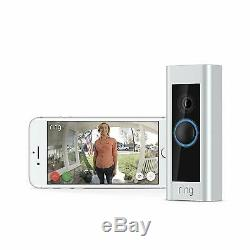 Ring Video Doorbell Pro 1080P HD Security Cam with Night Vision