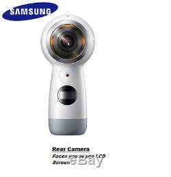 SAMSUNG GEAR 360 VR 2017 SM-R210 Camera US Seller Security Dash Cam s8 s9 Plus 1
