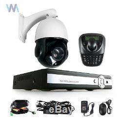 Sony CCD 30X Zoom 1200TVL Outdoor PTZ Speed Dome Camera CCTV Security Cam +DVR