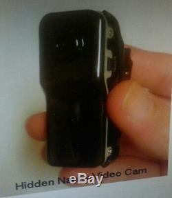 Spy Wireless Pinhole Camera Hidden Nanny Surveillance DV Cam Dvr Voice Activated
