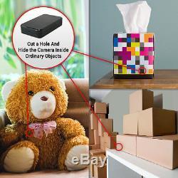 SpygearGadgets 1080P HD DIY Black Box Hidden Spy Nanny Cam Home Security Camera