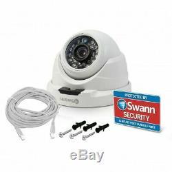 Swann NHD 811 1080p Full HD Security Dome CCTV Camera Night Vision Audio White