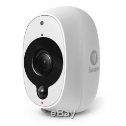 Swann Smart Wireless Security CCTV Camera 1080p HD Audio PIR WiFi Baby Monitor