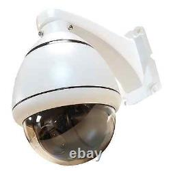 TVI 10x 2.1MP 1080P PTZ 5-50mm Control CCTV Security Camera pan tilt moving cam