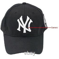 Telecamera in cappello video HD wifi nascosta occultata Micro Spia Spy Cam 1080p
