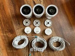 Three 3 Nest Cam IQ Outdoor Wireless Camera White