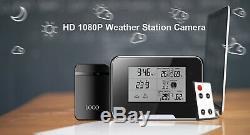 Wetterstation Kamera Spy K61 Bewegungserkennung Spionagekamera SpyCam NEU aus DE
