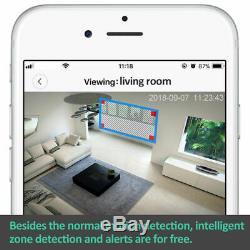 Wireless Camera 360 HD Indoor Wifi IP Cam CCTV Home Security Surveillance Kit